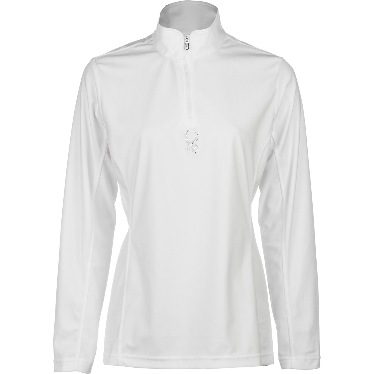 photo: Spyder Shimmer Bug T-Neck long sleeve performance top