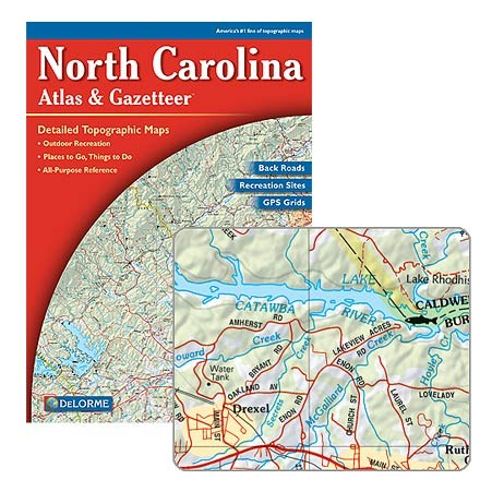 DeLorme North Carolina Atlas and Gazetteer