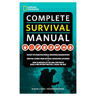 photo: National Geographic Complete Survival Manual first aid/safety/survival book