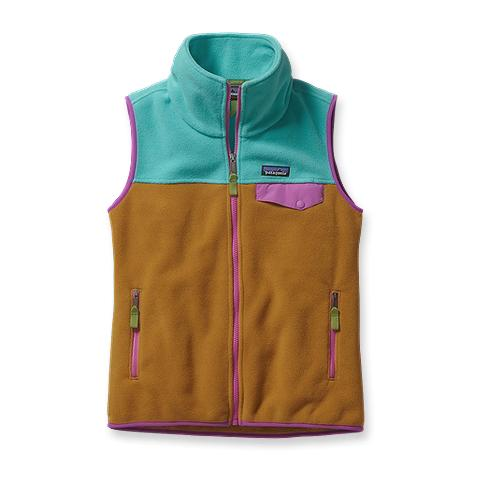 photo: Patagonia Snap-T Vest fleece vest