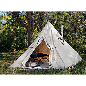 photo: Cabela's Outfitter Range A-Frame Tent by Montana Canvas three-season tent
