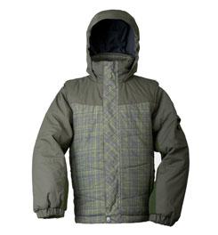 photo: White Sierra Boys' Bobby Lee Jacket component (3-in-1) jacket