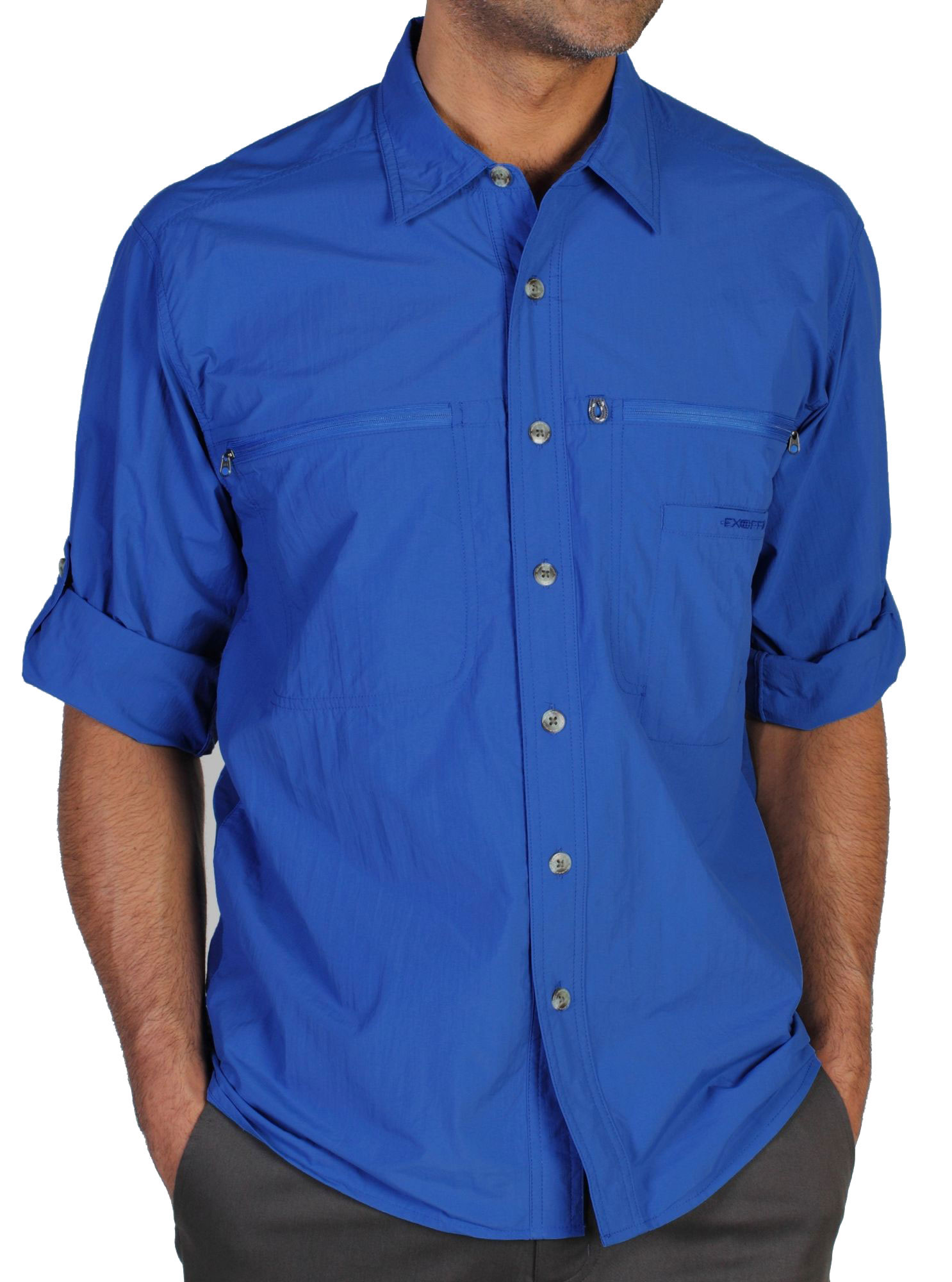photo: ExOfficio Men's Reef Runner Lite Long-Sleeve Shirt hiking shirt