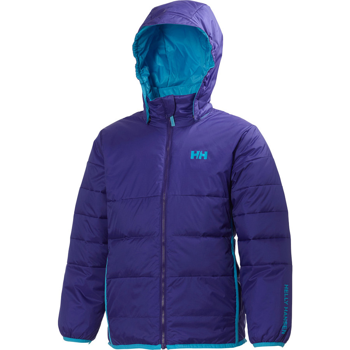 photo: Helly Hansen JR Down Reversible Jacket down insulated jacket