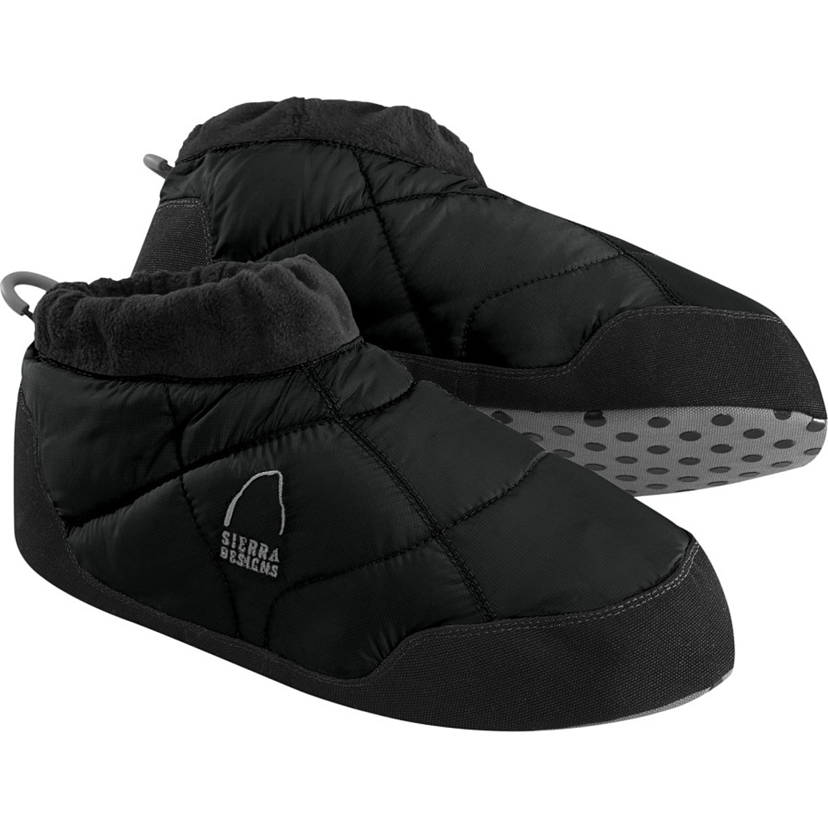 photo: Sierra Designs Men's Down Moccasin bootie