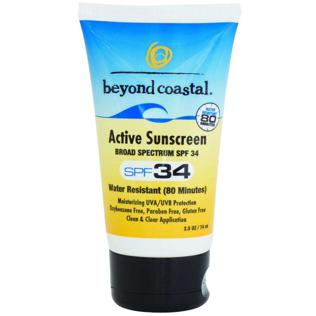 photo: Beyond Coastal Active Daily SPF 30 sunscreen