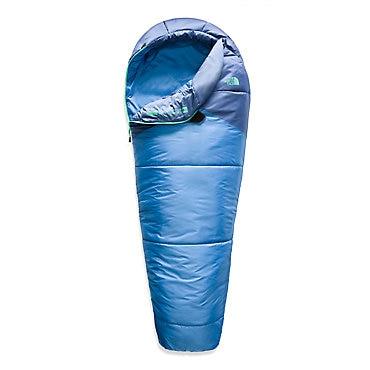 photo: The North Face Kids' Aleutian 20/-7 3-season synthetic sleeping bag