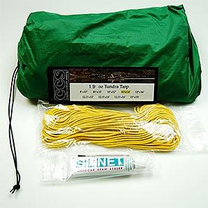 photo: Cooke Custom Sewing 1.9oz Silicone Tundra Tarp tarp/shelter