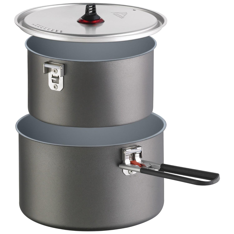 photo: MSR Ceramic 2-Pot Set pot/pan