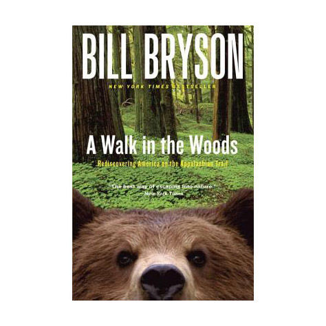 photo: Random House A Walk In The Woods camping/hiking/backpacking book