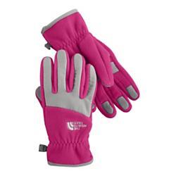 photo: The North Face Girls' Denali Glove fleece glove/mitten