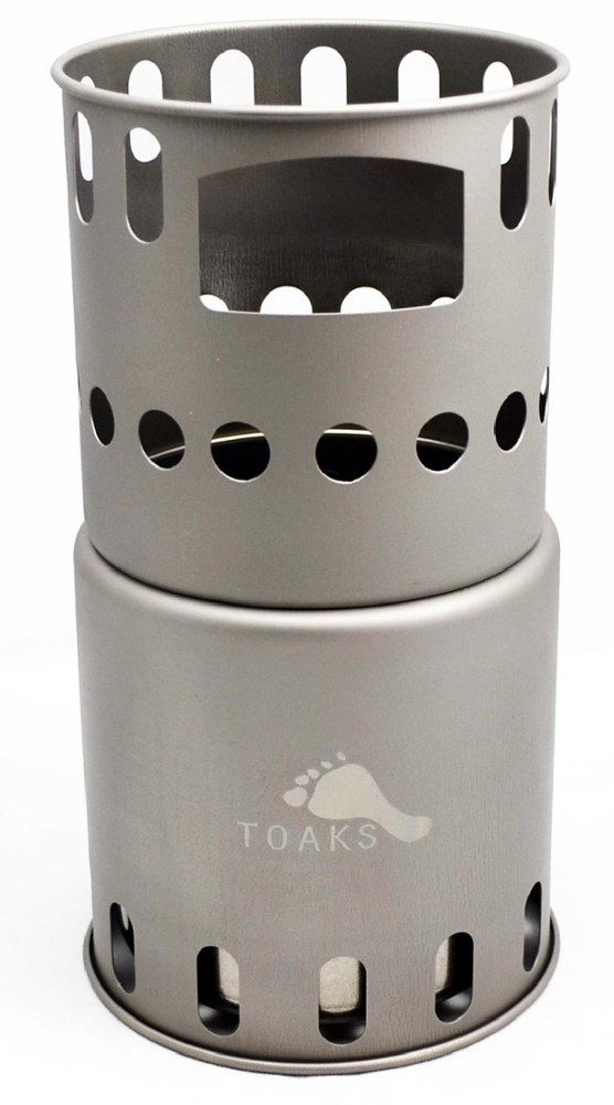 Toaks Titanium Backpacking Wood Burning Stove