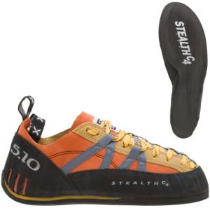 photo: Five Ten Wildfire climbing shoe