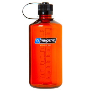photo: Nalgene 32 oz Narrow Mouth Lexan water bottle