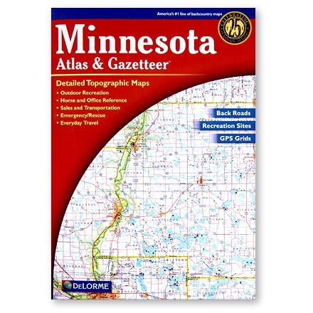 DeLorme Minnesota Atlas and Gazetteer