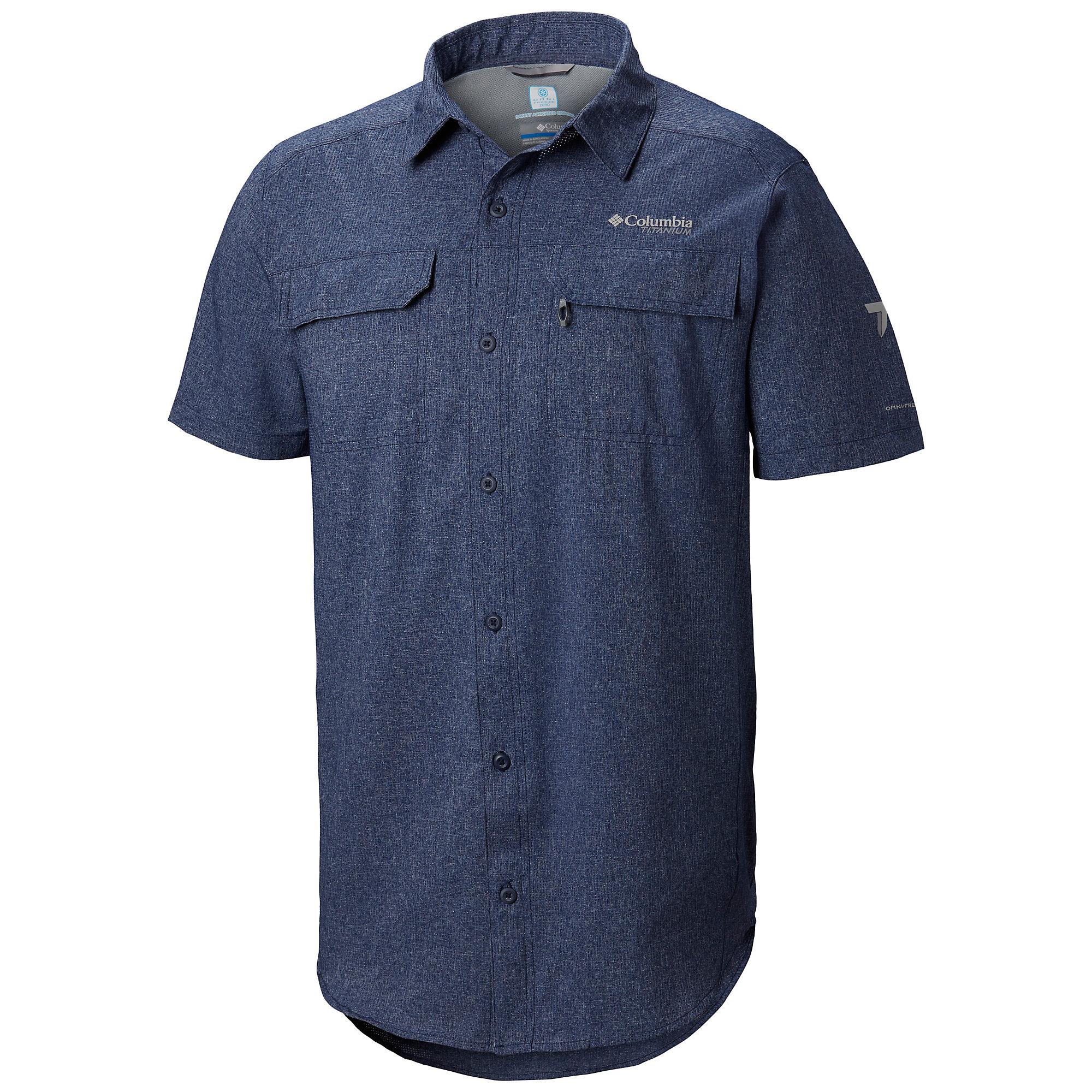 photo: Columbia Men's Irico Short Sleeve Shirt hiking shirt