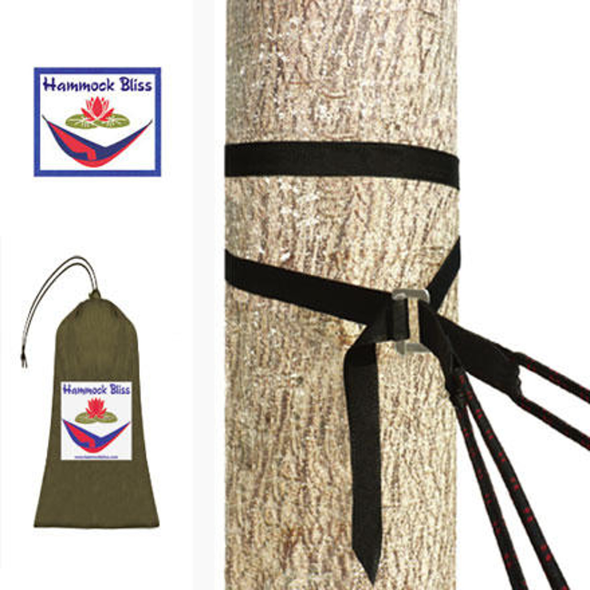 photo: Hammock Bliss Deluxe Cinching Tree Straps hammock accessory
