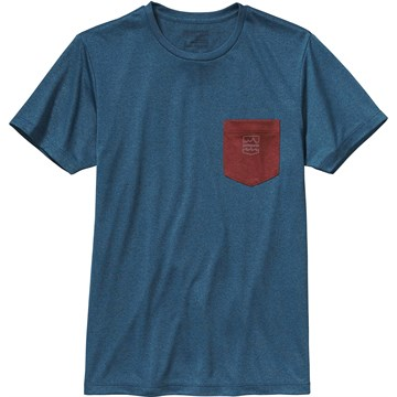 photo: Patagonia Recycled Poly Pocket Responsibili-Tee short sleeve performance top
