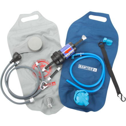photo: Sawyer Complete 4 Liter Gravity Water Purification System pump/gravity water filter