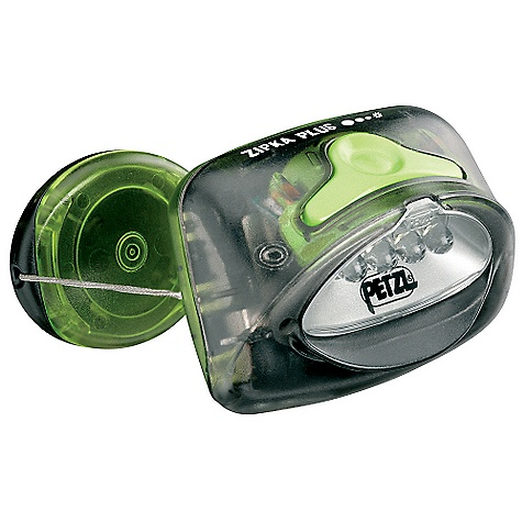 photo: Petzl Zipka Plus headlamp