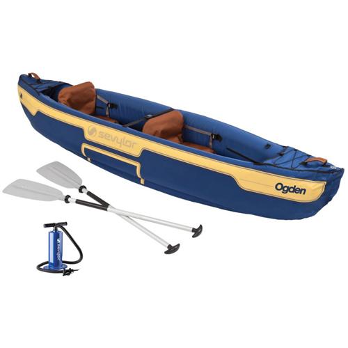 photo: Sevylor Ogden 2 Person Combo Canoe inflatable canoe