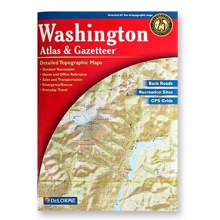 DeLorme Washington Atlas and Gazetteer