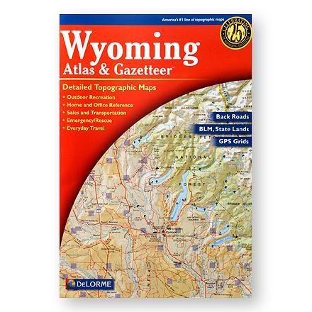 DeLorme Wyoming Atlas and Gazatteer