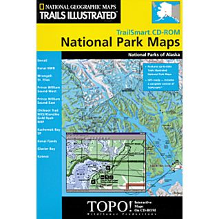 National Geographic TrailSmart CD-ROM: Alaska National Parks