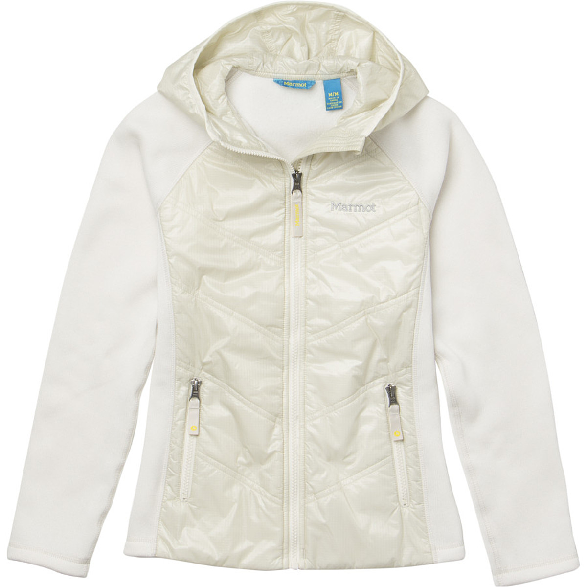 photo: Marmot Girls' Variant Hoody synthetic insulated jacket