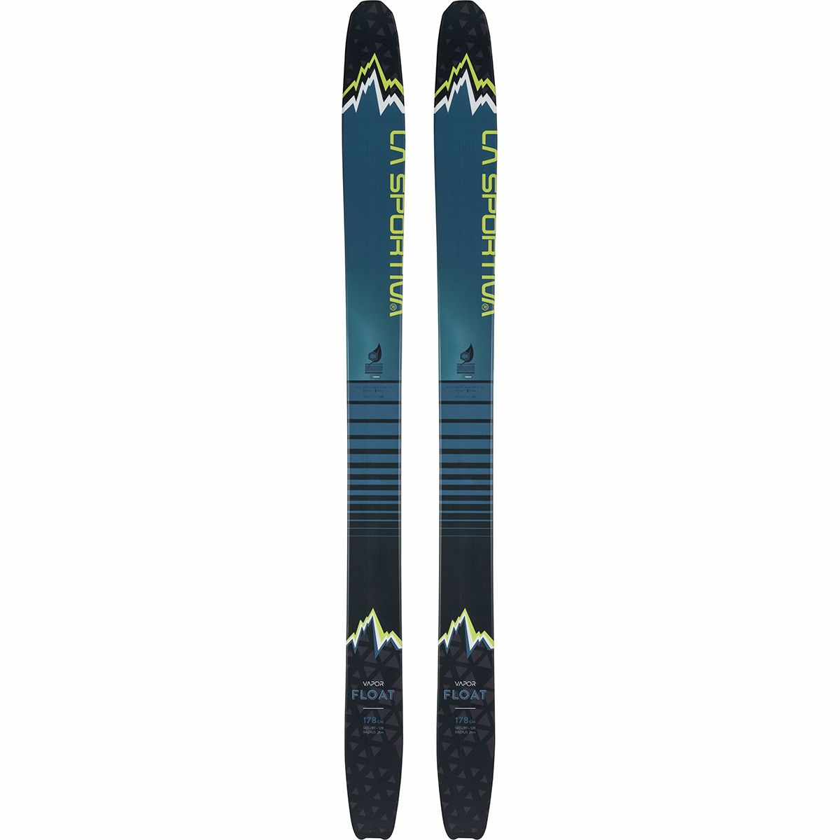 photo: La Sportiva Vapor Float alpine touring/telemark ski