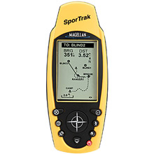 photo: Magellan SporTrak handheld gps receiver