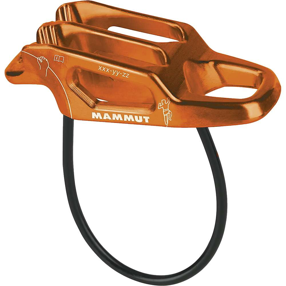 photo: Mammut Wall Alpine Belay Device belay/rappel device