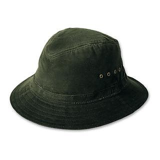 photo: Filson Cover Cloth Crushable Packer Hat sun hat