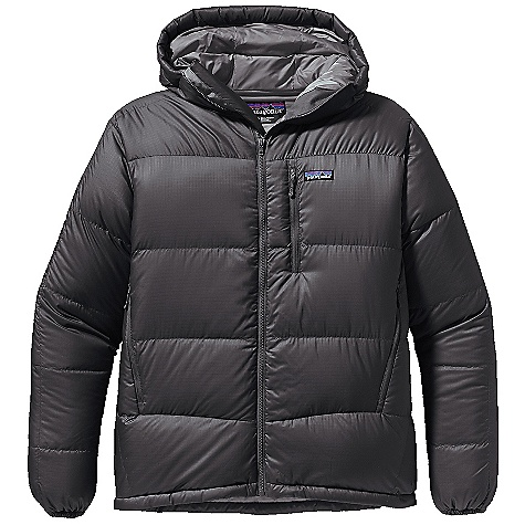 photo: Patagonia Men's Fitz Roy Down Hoody down insulated jacket