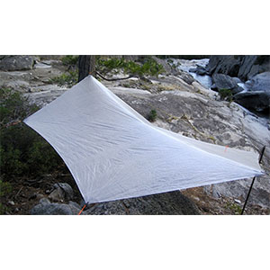 photo: Hammock Gear Cuben Fiber Hammock Hex Tarp tarp/shelter