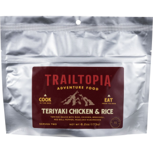 Trailtopia Teriyaki Chicken & Rice