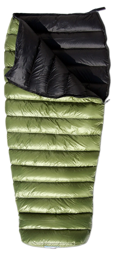photo: Western Mountaineering MityLite warm weather down sleeping bag