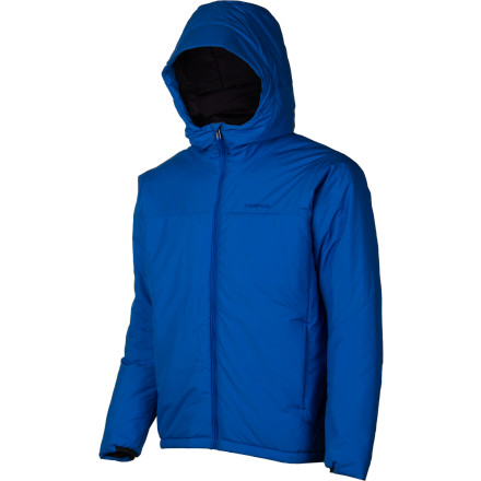 photo: Patagonia Micro Puff Hooded Jacket synthetic insulated jacket