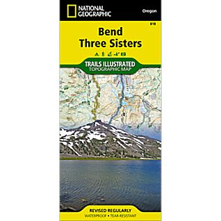 National Geographic Bend / Three Sisters Trail Map