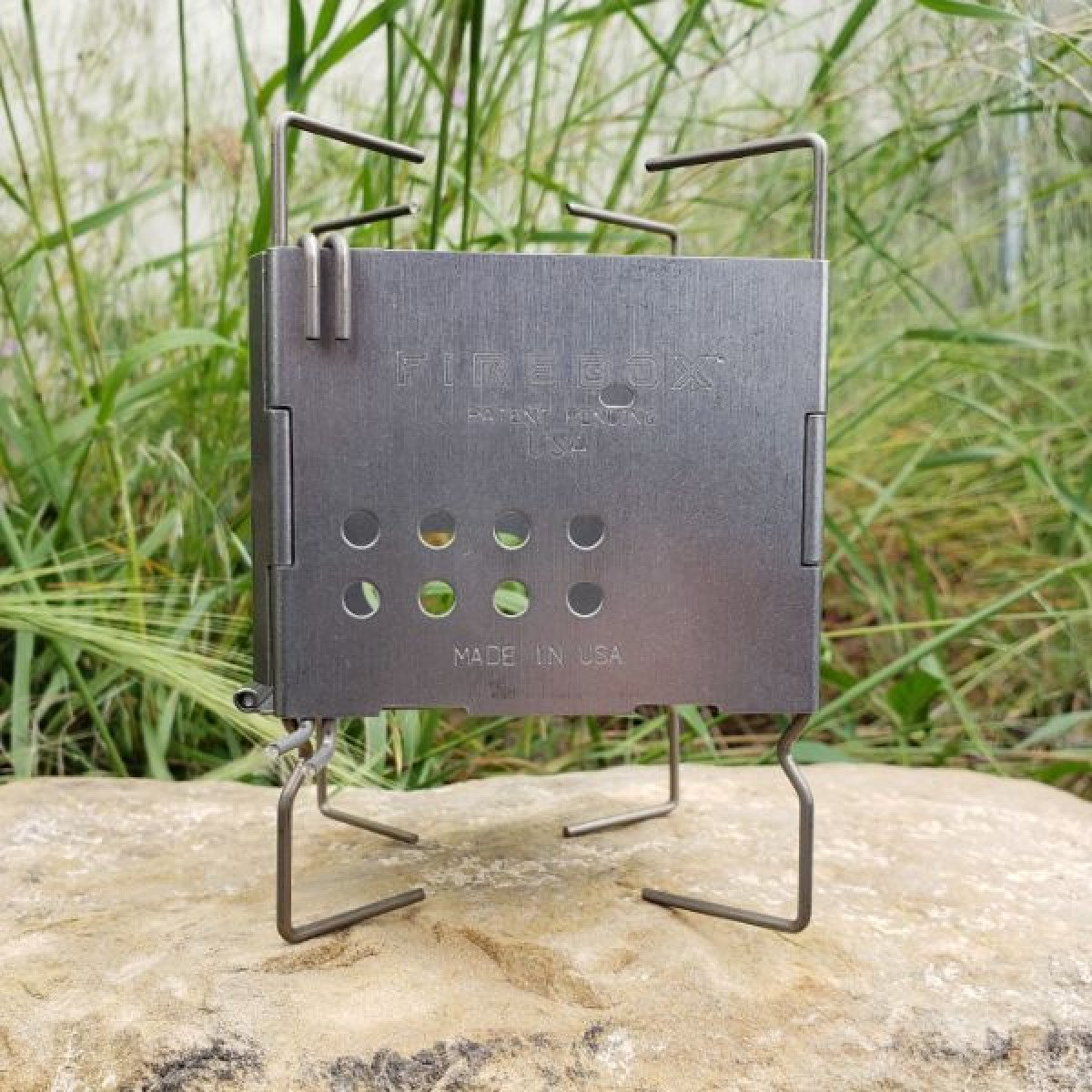 Firebox Gen2 Stainless Firebox Nano Ultralight Stove