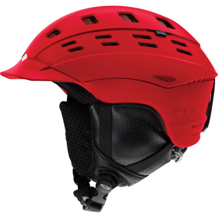photo: Smith Variant Brim Helmet snowsport helmet