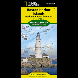 National Geographic Boston Harbor Islands National Recreation Area Map