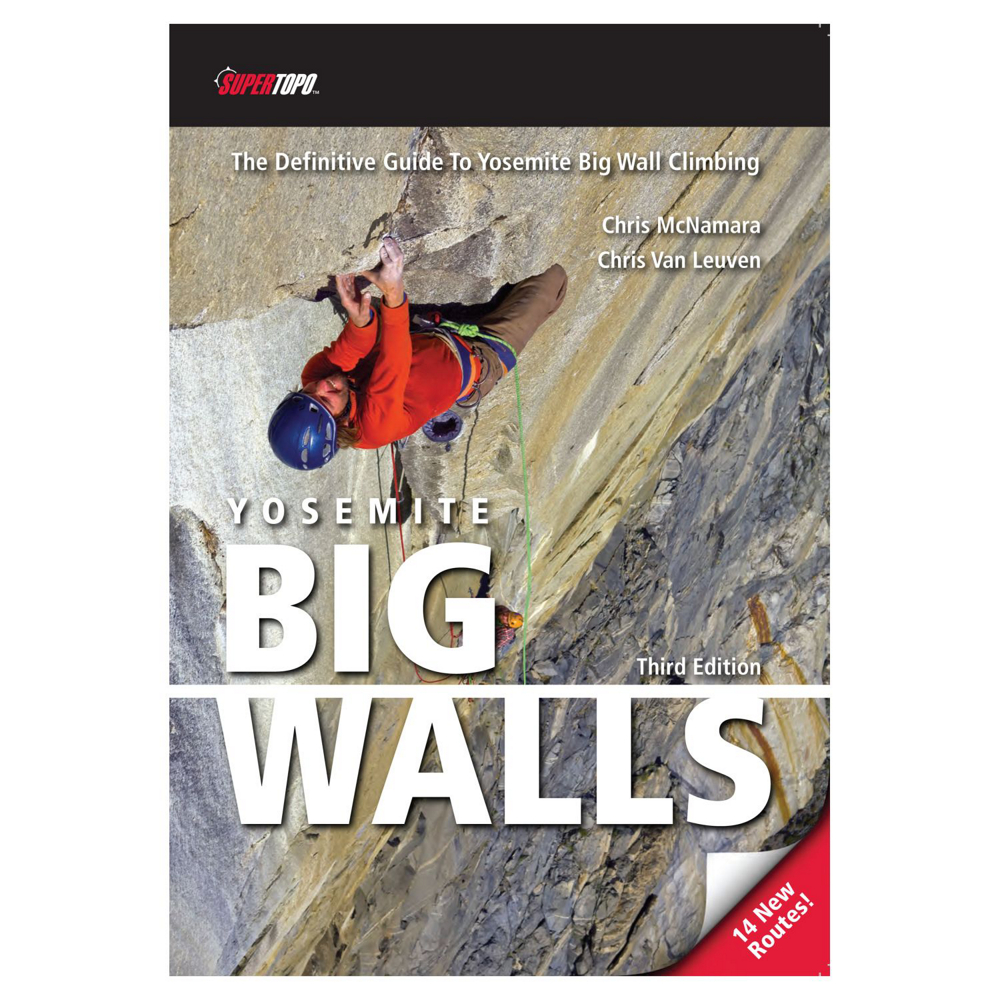 photo: SuperTopo Yosemite Big Walls us pacific states guidebook