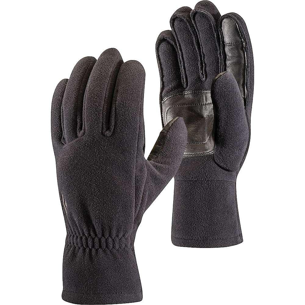 photo: Black Diamond MidWeight Windlbloc Fleece Gloves fleece glove/mitten