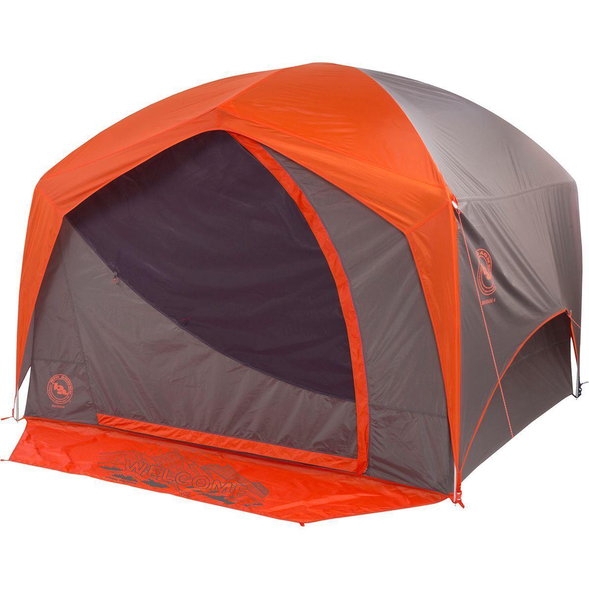 photo: Big Agnes Big House 4 Deluxe three-season tent