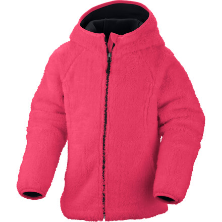 photo: Columbia Cozy Cutie Hoodie fleece jacket