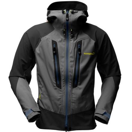 photo: Norrona Men's Lyngen Windstopper Jacket soft shell jacket