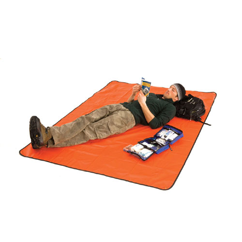 photo: SOL Sport Utility Blanket emergency shelter