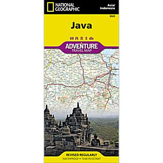 National Geographic Java Adventure Map