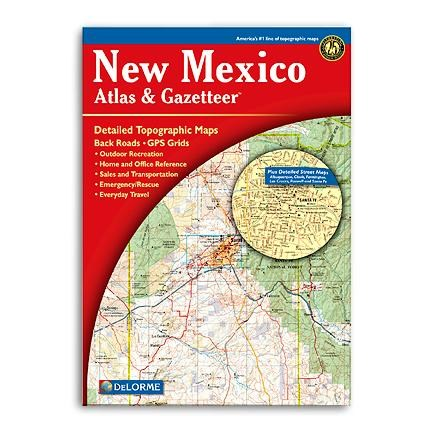 photo: DeLorme New Mexico Atlas and Gazetteer us mountain states paper map
